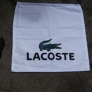 Lacoste dust bag